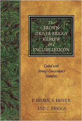 Brown-Driver-Briggs Hebrew Lexicon