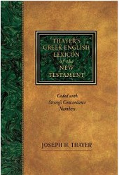 Thayer's Greek Lexicon