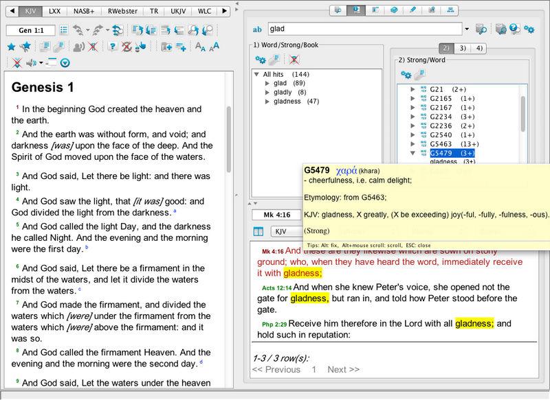 3 7  Search analyzer panel (Word occurrence analyzer panel)