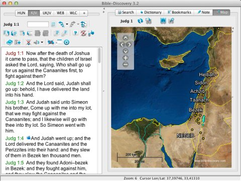 Bible Study Tool for Windows, Mac OS X, Linux