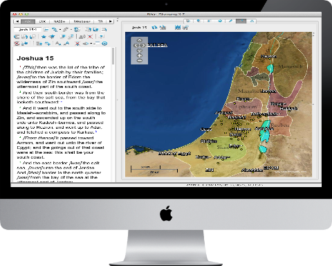 Bible Study Tool for Mac OS X