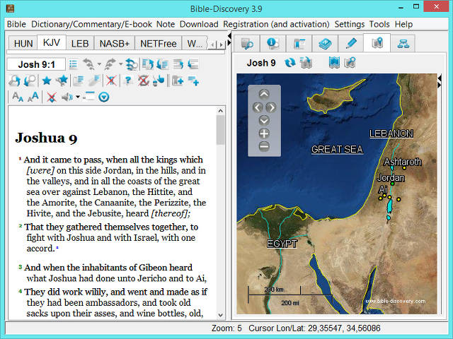 Bible concordance software